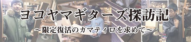 ヨコヤマギターズ探訪記~限定復活のカマティロを求めて~