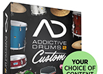 xln audio Addictive Drums 2 CUSTOM 本数限定特価