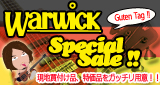 Warwick Special Sale!