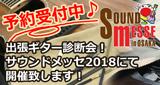 出張ギター診断会 in サウンドメッセ2018